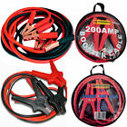 HEAVY DUTY CAR VAN JUMP LEADS LONG BOOSTER CABLES START 100 200 400 600 AMP NEW