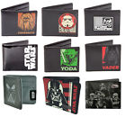 STAR WARS: Mens Bi Fold Wallet With Coin Pocket New Official Disney / Lucasfilm