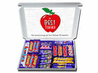 Personalised THANK YOU TEACHER Chocolate Selection Gift Box Hamper Apple design
