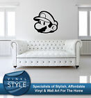 MARIO RETRO GAME CHARACTER DECOR DECAL STICKER WALL ART VARIOUS COLOURS