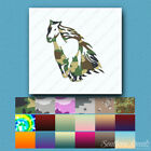 Horse Stallion Flames - Decal Sticker - Multiple Patterns & Sizes - ebn1060