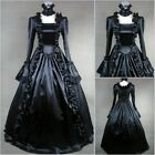 Classical lolita black Barbie queen gothic dress cosplay csotume for adult kids