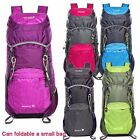 35L Waterproof Foldable Shoulder Backpack RucksacksTravel Hiking Trekking Bag