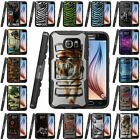 Samsung Galaxy S7 | Hybrid Rugged Holster Case Cover Stand Belt Clip