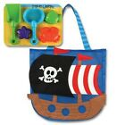 Stephen Joseph Gifts Novelty Beach Tote with Sand Toys