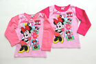 DISNEY MINNIE LONG SLEEVE SHIRT PULLOVER SIZE 98 104 110 116 128