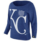 Kansas City Royals Women's Gym Vintage Crew Shirt on Ebay
