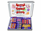 CHOOSE ANY AGE & Personal Message Birthday Chocolate Bar Gift Hamper Cadbury