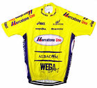 MERCATONE UNO RETRO VINTAGE CYCLING TEAM BIKE JERSEY - Marco Pantani, Giro, Tour