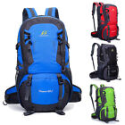 40L Men Women Waterproof Nylon Outdoor Backpack Sport Hiking Travel Rucksack Bag