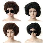70S FUNKY AFRO WIG FANCY DRESS ACCESSORY ACCESSORIES HAIR 1970 BRAND NEW MULTI