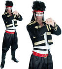 Mens New Romantic Fancy Dress Costume Adam Ant 80S Pop Star Outfit M-XL