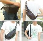 Fashion Leather Women Men's Waist Pack Belt Bag Pouch Travel Hip Purse