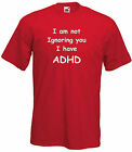ADHD Kids T-shirt, Not ignoring you, I have ADHD