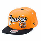 Zephyr Yellow and Black Boston Bruins Snapback Cap
