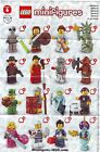 Lego Minifigure Series 6 Figures 8827 Lady Liberty Sleepy Boy Roman Soldier