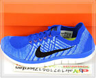 Nike Wmns Free 4.0 Flyknit Blue Black 717076-406 US 6~8.5 Womens Running