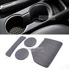 Console Cup Holder Insert Tray Pad 4pcs for KIA 2017 - 2020 Sportage QL