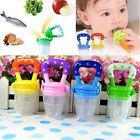 S/M/L Nipple Fresh Food Milk Nibbler Feeder Feeding Tool New Safe Baby Bottles