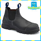 Blundstone Mens Work Boots 990 Steel Toe Black elastic sided NEW All Sizes!