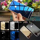 Mirror Tempered Glass Front+Back Screen Protector cover for iPhone 4 5 6 6S plus