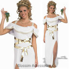CL819 Grecian Greek Goddess Toga Cleopatra Egyptian Roman Fancy Dress Up Costume