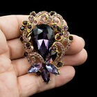 Rhinestone Crystals Brooch Broach Pins Women Jewelry Accessories 6617