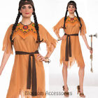 CL831 Indian Maiden Pocahontas Native American Wild West Fancy Dress Up Costume