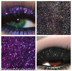 Glitter Eyes - Duo Violet & Black Holographic Eye Shadow Fixing gel Long Lasting