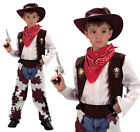 Childrens Cowboy Fancy Dress Costume Boys Book Week Childs Outfit 3-13 Yrs