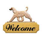 Afghan Hound Welcome Sign. Home,Yard & Garden Dog Breed Wood Products & Gifts
