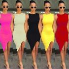 Cozy Womens Casual Sleeveless Evening Party Cocktail Short Summer Mini Dress