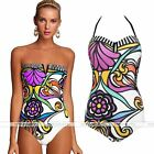 Rare Womens One-Piece Swimsuit Bathing Suit Push Up Padded Swimwear Monokini