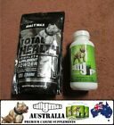 BULLY MAX SUPPLEMENTS TOTAL HEALTH & BULLY MAX COMBO 60-180 SERVE (AUS VERIFIED)
