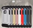 New Shockproof Duel Layer 2 in 1 2 Colour Case Cover For Apple iPhone 6 6s 4.7""