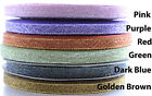 25 Yard Roll Glitter Sparkle Ribbon / Satin Glitter Ribbon 6mm wide -  UK Seller