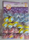 1 x Cherubs Baby Orthodontic SOOTHER Pacifier Dummy dummie Pick Colour 0 Mnths+