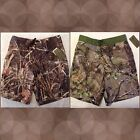 Realtree Camouflage Camo Boardshort Swim Trunks ~ Small or Medium ~ New with Tag
