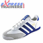 Adidas Originals Mens Dragon Classic Casual Retro White Trainers