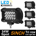 """52"""" 300W Curved White Combo Work LED Light Bar Driving Offroad SUV Car 4WD Boat"""