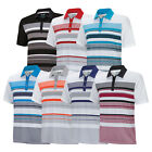 New Adidas Golf ClimaCool Sport Stripe Polo Mesh Back Ventilation - Pick Size
