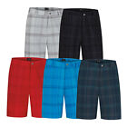 New Adidas Golf Stretch Tonal Plaid Short  - Pick Size & Color