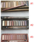 Popular 12 Color EyeShadow Palette Makeup Cosmetic Shimmer Matte Eyeshadow 1+2+3