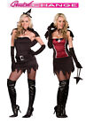 Brand New Sexy Witch to Vampire Power Quick Change Adult Halloween Costume