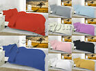 Hotel Quality Fitted, Flat Sheets OR Pillow Cases TC 200 100% Egyptian Cotton