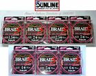 Sunline Super Braid PE 8 328yds.300m.№1,5 to №6 PE 8 Eight Braided Fishing Line