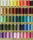 POLYESTER CROCHET THREAD - SIZE 50 similar to US30  25 GR REELS VARIOUS COLOURS