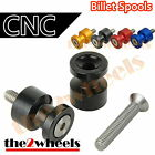Aluminium Hawk Swingarm Spools Sliders M8 8mm for Suzuki DL1000 DL650 V-STROM