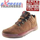 Caterpillar CAT Forseen Mens Suede Leather Urban Hiker Boots Tan