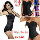 Sexy Women Latex Rubber Tummy Corset Shaper Waist Clincher Training Belt Black